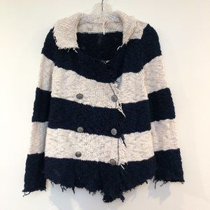 Free People Knit Button Up Cardigan Sweater XS